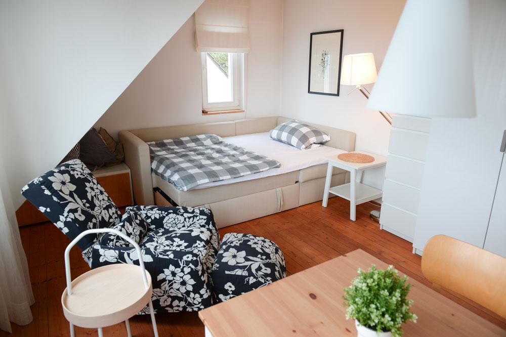 Gastfamilie Einzelzimmer (Beispielfoto)