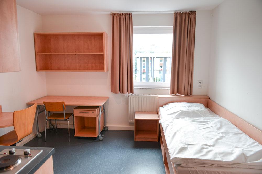 Studierendenwohnheim Einzelzimmer (Beispielfoto)